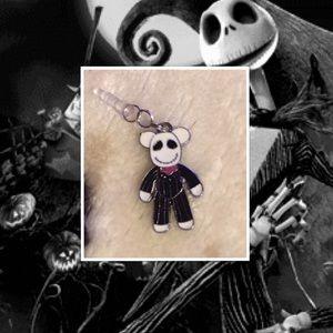 Accessories - Jack skellington Mickey dust plug